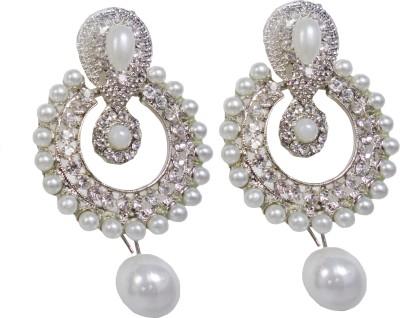 Vikash Enterprises Pearl Mother of Pearl Dangle Earring