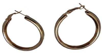 Vikash Enterprises Alloy Hoop Earring, Clip-on Earring