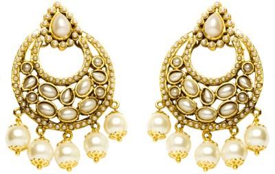Joyas Stylish Look Brass Chandbali Earring