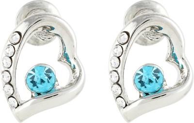 Akshata Pattern Crystal Alloy Stud Earring