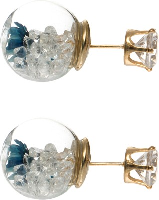 Eternz Reve Collection Metal Stud Earring