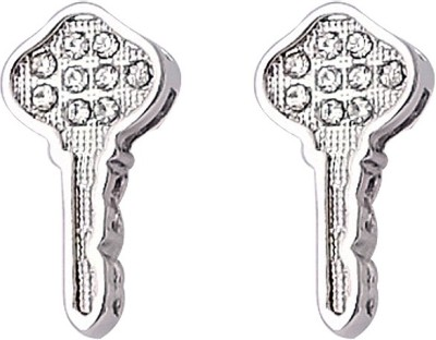 Super Drool Shimmering Key Alloy Stud Earring