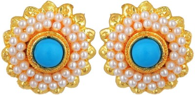 Kshitij Jewels Color Blast Alloy Stud Earring