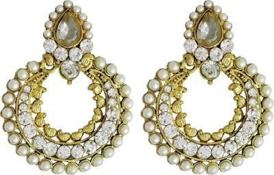 Yogada Ethnic030 Alloy Chandbali Earring