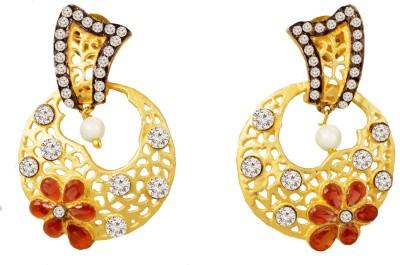 Jewelskaro Dangler Antique Designer Fashion jewelry Designs Copper Dangle Earring
