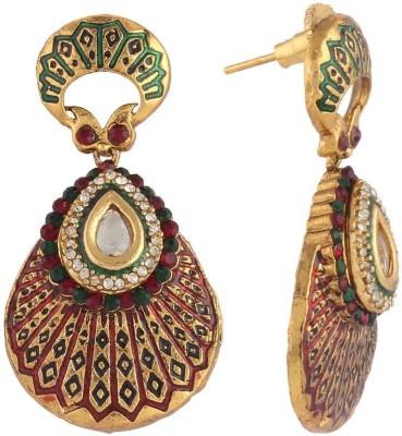Panini F_06 Copper Dangle Earring