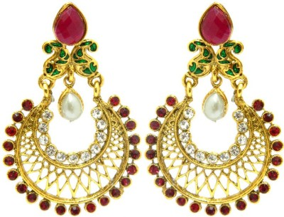 Peora Traditional Alloy Chandbali Earring