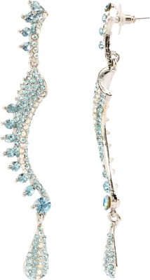 Maisha Maisha's Eternal Turquoise Sleek & Long Dangle Earring Alloy Dangle Earring
