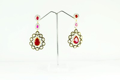 Chouhan Stylish Latkan Metal Drop Earring