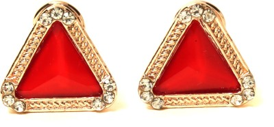 Medallion Collection Tops Alloy Stud Earring