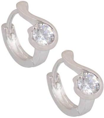 SuperShine jewelry Spring Sparkle Zircon Brass Huggie Earring