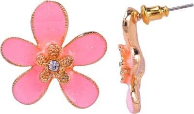 Maisha Pincess pink. Alloy Stud Earring