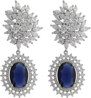Treta Pretty Sterling Silver Drop Earring
