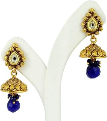 Maalyaa Jhumka Brass, Copper Jhumki Earring