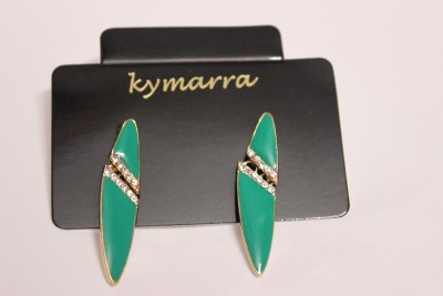 Kymarra Beauty Bloom Brass Earring Set, Drop Earring