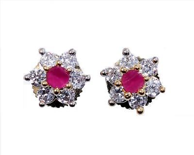 Asset Jewels Sparkle Brass Stud Earring