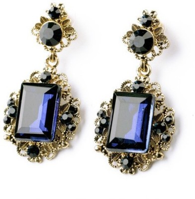 femnmas Vintage Celebrity Fashion Zinc Chandelier Earring