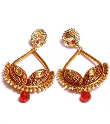 PFJ PFJ3010 Brass, Copper Chandbali Earring