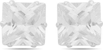 Gemshop Wonderful Sterling Silver Stud Earring