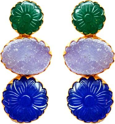 MKJewellers Onyx Copper Stud Earring