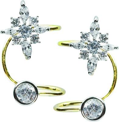 Womanwa Dazzling & Stylish Metal Cuff Earring
