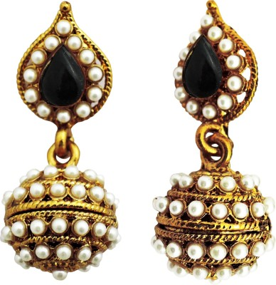 Aura Collection Traditional Jhumki01 Alloy Drop Earring
