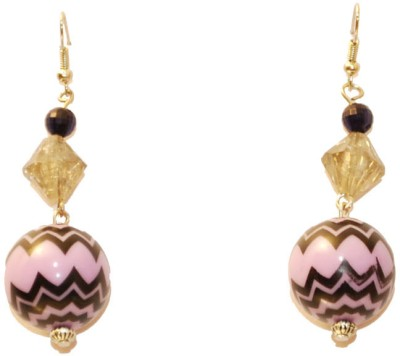 Women Trendz Rhodium Polish Metal Dangle Earring