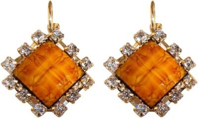 Shreya Collection Spring Sparkle-Brown Alloy Drop Earring
