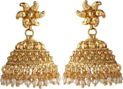 Aashvi Creation Beads Copper Jhumki Earring
