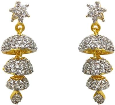 Chandrika Pearls Ethnic Copper Jhumki Earring