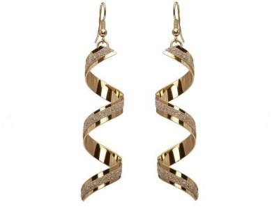 ACW Twist Spiral Dangle Earrings Zinc Dangle Earring
