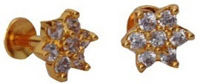 Ankur Brass Stud Earring