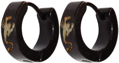 Men Style Scorpio Designer Fashion Stainless Steel Hoop Earring