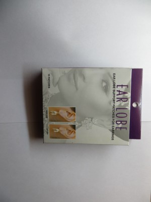 Ear Lobe & Accessories 1001 Silicone Stick-on Earring