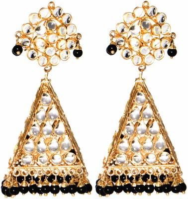 LE Jharokhas Alloy Jhumki Earring
