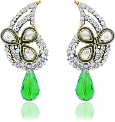 BoBell AD & Kundan Copper Drop Earring