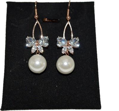 Advika Creations Spring Sparkle Crystal Alloy Dangle Earring
