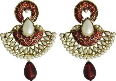 Yogada Ethnic039 Alloy Chandbali Earring