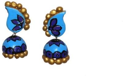 Aanya Creations Dangle Ceramic Jhumki Earring