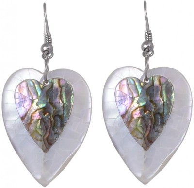 DesiPanache Shell Dangle Earring