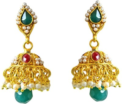 Surat Diamond Nupoor Copper Jhumki Earring at flipkart