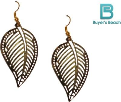 Buyer's Beach Yellow Mango Metal Dangle Earring