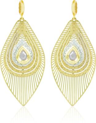 BoBell AD Classy Brass Copper Drop Earring