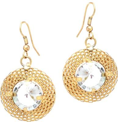 Fashion Era Shinner Golden Metal Drop Earring