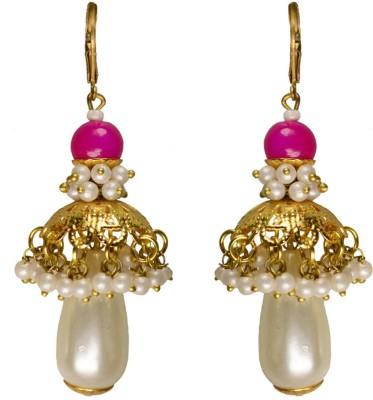 Rasaam Rani Beads Alloy Jhumki Earring