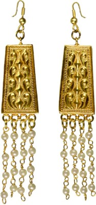 Rasaam lightweight string earrings Beads Alloy Ear Thread