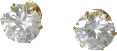 Naina Enterprises Elegant Round Diamond Acrylic Stud Earring
