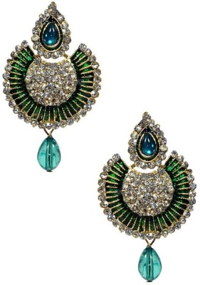 Shine My Life Lube Alloy Chandbali Earring