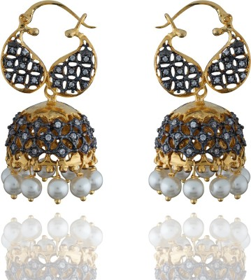 Chaahat Fashion Jewellery Beautiful And Simple Copper Jhumki Earring