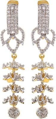 Fashionage Brass Dangle Earring